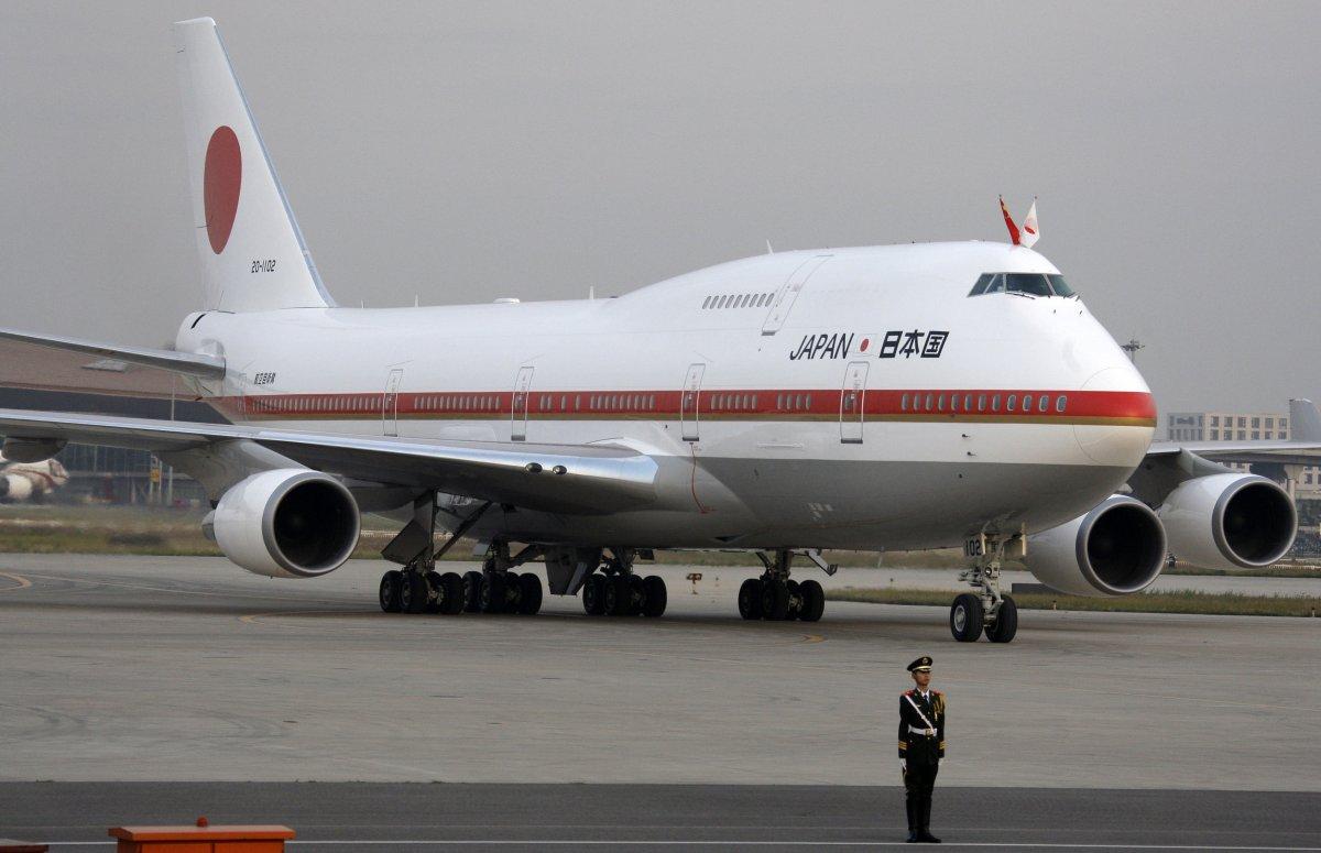 یہ دیکھیں جاپان کے سربراہ مملکت کا ہوائی جہاز