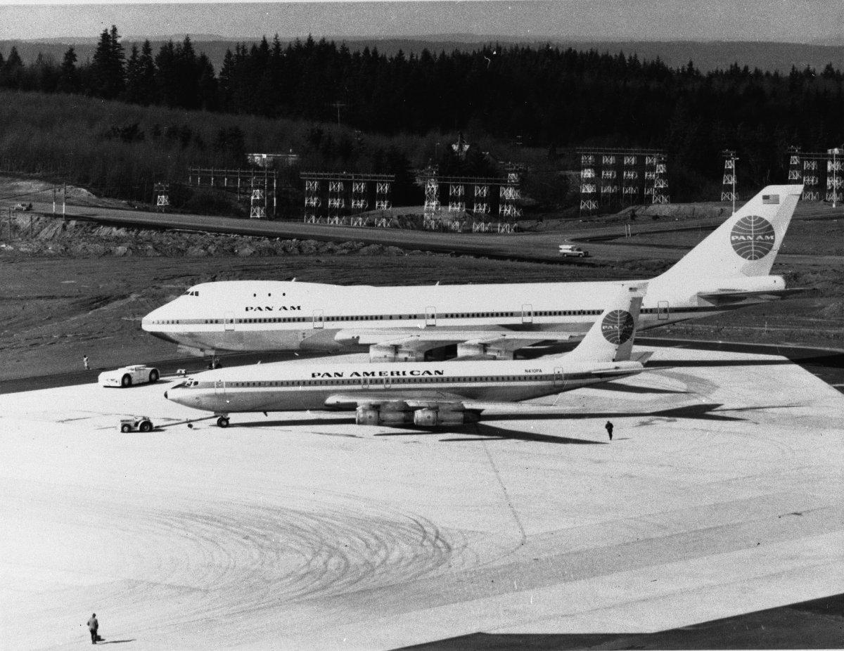 550 افراد تک کی گنجائش کے ساتھ 747 نے بوئنگ 707 اور اپنے وقت کے دیگر ہوائی جہازوں کو پیچھے چھوڑ دیا