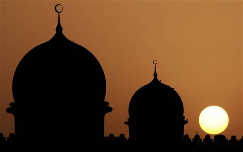 sunset-mosque
