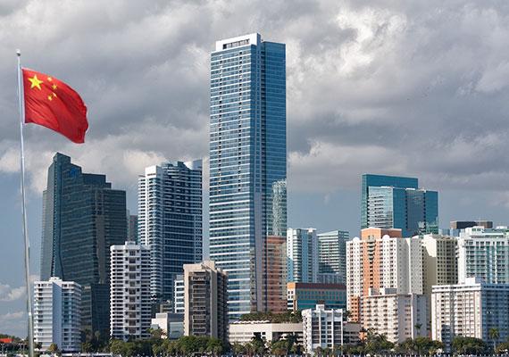 miami_skyline-chinaflag